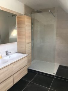 Arras , salle de bain, Rénovation cumulus