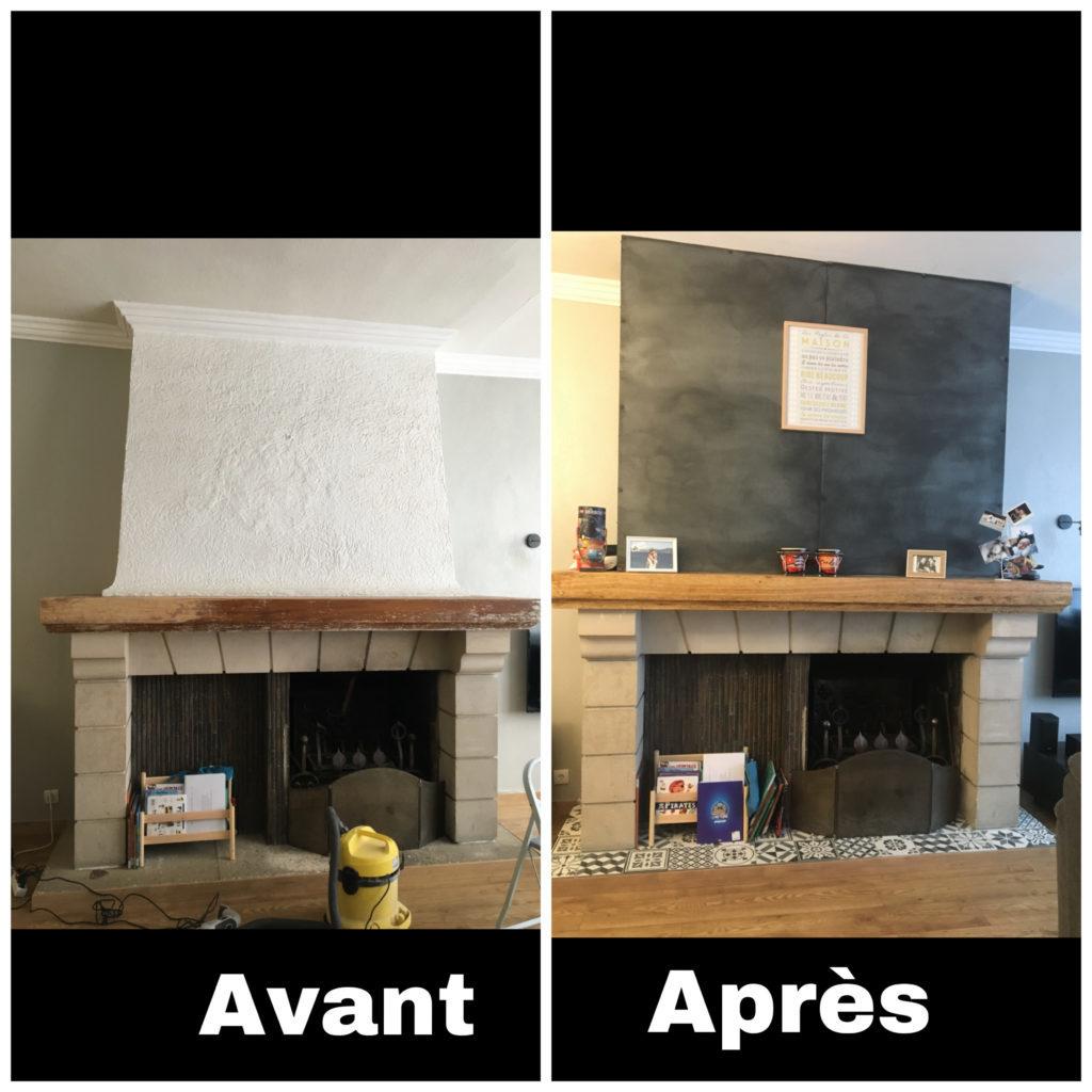 cheminée rénovation