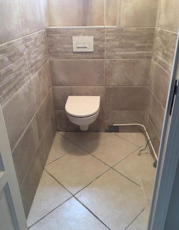 wc suspendu plombier henin